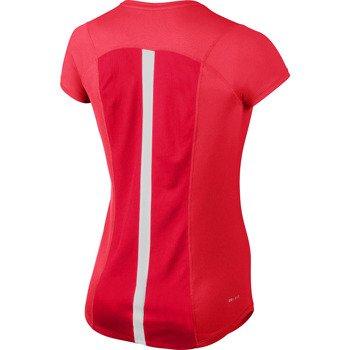 koszulka do biegania damska NIKE RACER SHORTSLEEVE TOP / 520276-685