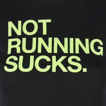 koszulka do biegania damska NIKE RUN NOT RUNNING TEE / 696726-010