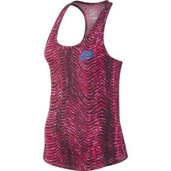 koszulka do biegania damska NIKE RUN PRINTED FLOW TANK / 778401-690