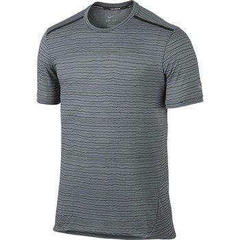 koszulka do biegania męska NIKE DRI-FIT COOL TAILWIND STRIPE SHORT SLEEVE  / 724809-065