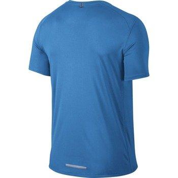 koszulka do biegania męska NIKE DRI-FIT MILER SHORT SLEEVE / 683527-435