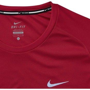 koszulka do biegania męska NIKE DRI-FIT MILER SHORT SLEEVE / 683527-657