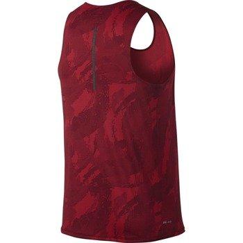 koszulka do biegania męska NIKE FRACTUAL RACING SINGLET / 683406-657
