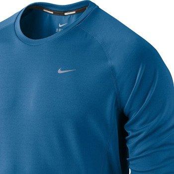 koszulka do biegania męska NIKE MILER LONGSLEEVE UV (TEAM) / 519700-418