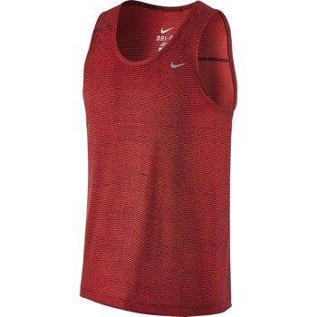 koszulka do biegania męska NIKE PRINTED MILER SINGLET / 644329-647