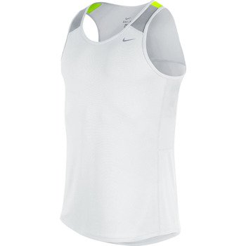 koszulka do biegania męska NIKE RACER SINGLET / 543229-101