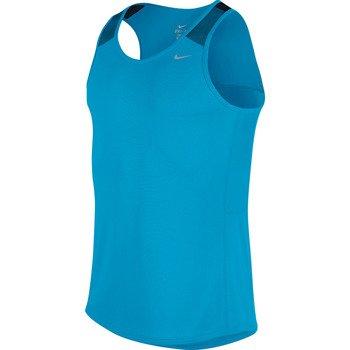 koszulka do biegania męska NIKE RACER SINGLET / 543229-415