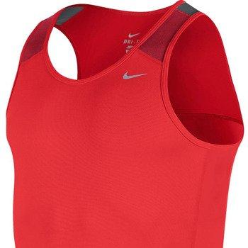 koszulka do biegania męska NIKE RACER SINGLET / 543229-696