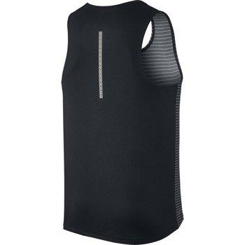 koszulka do biegania męska NIKE RACING PRINT SINGLET / 717799-010