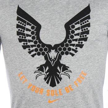 koszulka do biegania męska NIKE RUN DRI-FIT BLEND FREE SOLE TEE / 683060-063