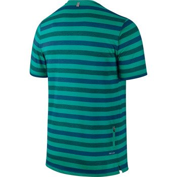 koszulka do biegania męska NIKE TOUCH TAILWIND SHORTSLEEVE STRIPED / 596202-383