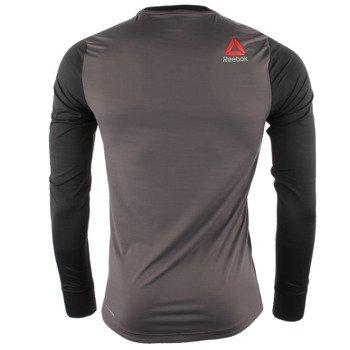 koszulka do biegania męska REEBOK ONE SERIES RUNNING LONG SLEEVE ACTIVCHILL TEE / AO0489