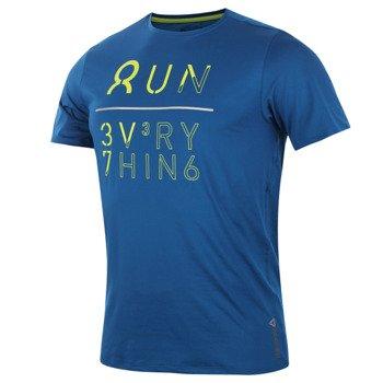 koszulka do biegania męska REEBOK ONE SERIES SHORTSLEEVE GRAPHIC TEE / Z89178