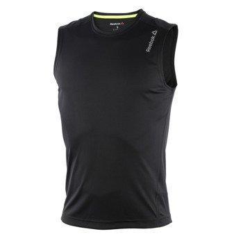 koszulka do biegania męska REEBOK RUNNING ESSENTIALS SLEEVELESS TEE / AJ0348
