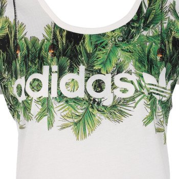 koszulka sportowa damska ADIDAS PALM PRINT TEE / S18508
