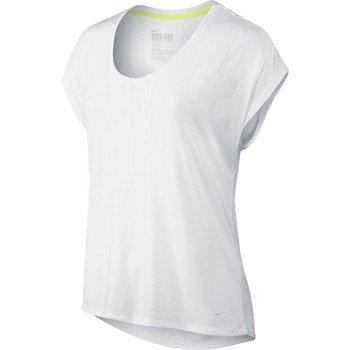 koszulka sportowa damska NIKE CLUB BOXY TEE LOGO / 637553-100