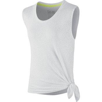 koszulka sportowa damska NIKE CLUB MEZZO TIE / 638904-100