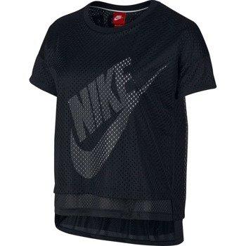 koszulka sportowa damska NIKE CROP TEE-MESH / 726110-010