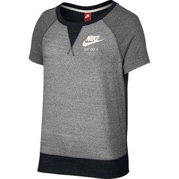 koszulka sportowa damska NIKE GYM VINTAGE TOP SHORT SLEEVE / 728234-010