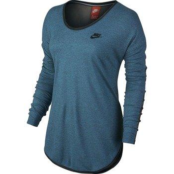 koszulka sportowa damska NIKE LONG SLEEVE TEE T2 / 689521-482