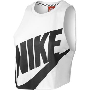 koszulka sportowa damska NIKE NTF CROP SLEVELESS TOP / 649704-100