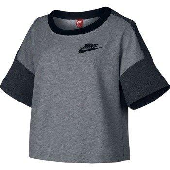 koszulka sportowa damska NIKE RALLY PLUS SHORTSLEEVE CREW / 728225-100