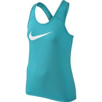 koszulka sportowa dziewczęca NIKE PRO COOL TANK / 727974-418