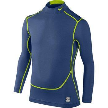 koszulka sportowa termoaktywna juniorska NIKE PRO COMBAT CORE COMPRESSION LONGSLEEVE MOCK / 522803-431
