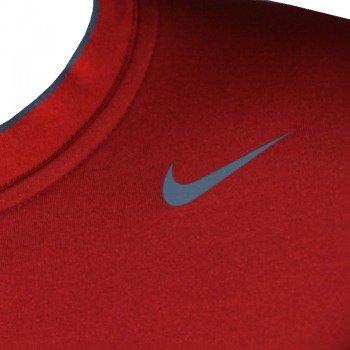 koszulka sportowa termoaktywna juniorska NIKE PRO COMBAT CORE COMPRESSION SHORTSLEEVE varsity red/flint grey / 413911-648