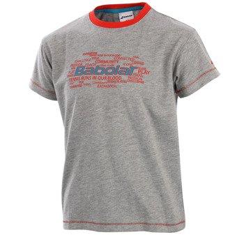 koszulka tenisowa chłopięca BABOLAT TEE CORE / 42F1582-107
