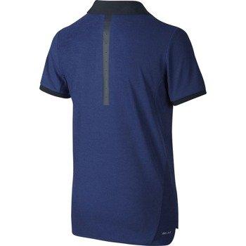 koszulka tenisowa chłopięca NIKE ROGER FEDERER ADVANTAGE POLO PREMIER  / 822279-455