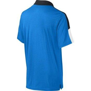 koszulka tenisowa chłopięca NIKE TEAM COURT POLO / 642071-409