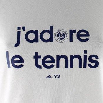 koszulka tenisowa damska ADIDAS ROLAND GARROS Y-3 LOGO TEE / AP4229