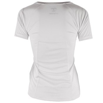 koszulka tenisowa damska ASICS CLUB V-NECK TOP / 130250-0001