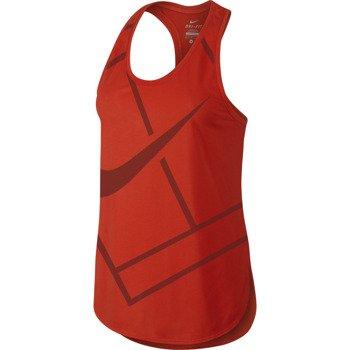 koszulka tenisowa damska NIKE BASELINE TANK / 728725-671
