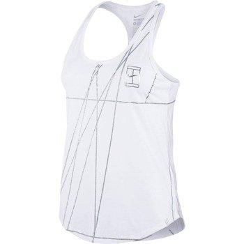 koszulka tenisowa damska NIKE COURT FRENCH OPEN AGASSI / 739491-100