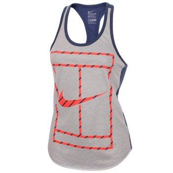 koszulka tenisowa damska NIKE COURT FRENCH STRIPE TANK / 705164-101