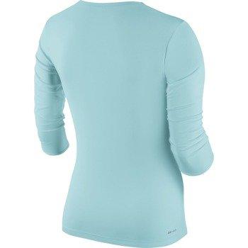 koszulka tenisowa damska NIKE PURE LONGSLEEVE TOP / 683150-437