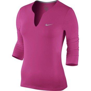 koszulka tenisowa damska NIKE PURE TOP / 683150-616