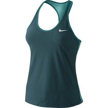 koszulka tenisowa damska NIKE SLAM PRINTED BREATHE / 683108-307