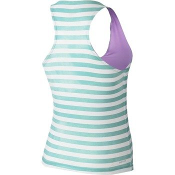 koszulka tenisowa damska NIKE STRIPE PURE TANK / 646192-466