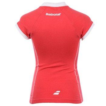 koszulka tenisowa dziewczęca BABOLAT T-SHIRT TRAINING ESSENTIAL / 42F1496-185