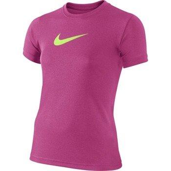 koszulka tenisowa dziewczęca NIKE LEGEND SHORTSLEEVE TOP / 392389-618