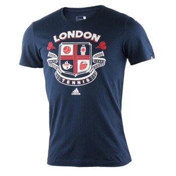koszulka tenisowa męska ADIDAS WIMBLEDON TEE / AY7079