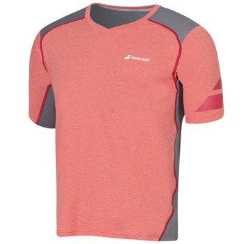 koszulka tenisowa męska BABOLAT T-SHIRT V-NECK PERFORMANCE / 2MF16012-104