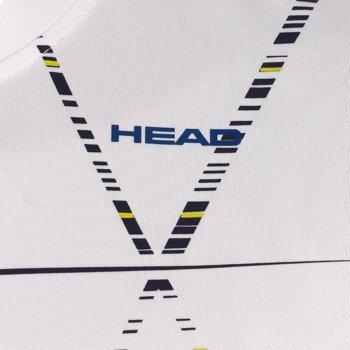 koszulka tenisowa męska HEAD DASH T-SHIRT / 811134 WHNV
