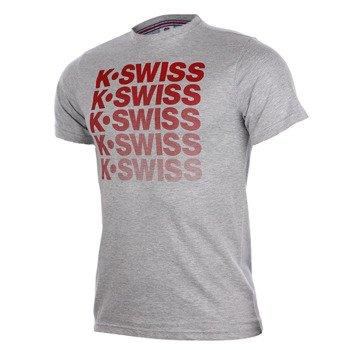 koszulka tenisowa męska K-SWISS SPELL OUT TEE / 101250-065