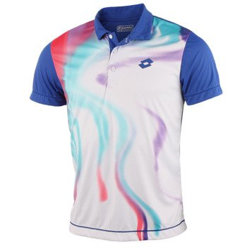 koszulka tenisowa męska LOTTO POLO BLEND / Q8710