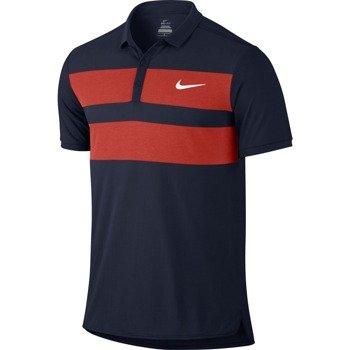 koszulka tenisowa męska NIKE ADVANTAGE DRI-FIT COOL POLO / 728949-451