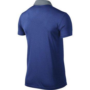 koszulka tenisowa męska NIKE BASELINE POLO / 596582-480